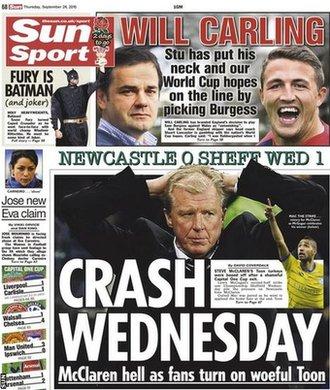 Thursday football news and transfer rumours _85716353_sun