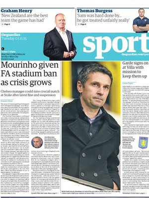 Wednesday night papers _86471434_guardian