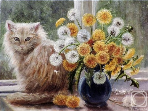 Кошки в живописи 3318ff04e016