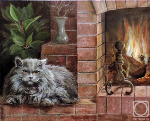 Кошки в живописи E2b50748d67d