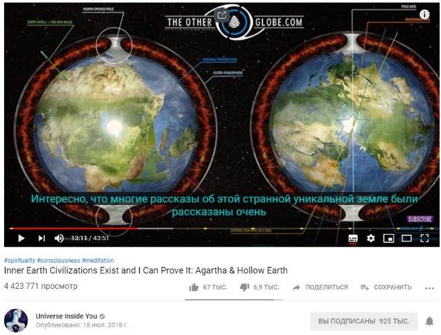 Теория полой земли или откуда прилетают НЛО? F5db70bbc173