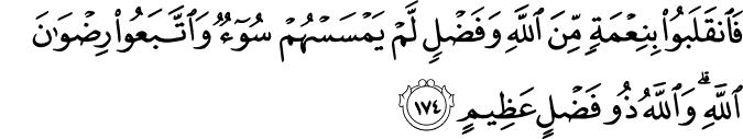 (Family of Imran  - سورة آل عمران 3_174