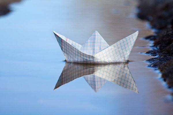 Бумажный кораблик Bamazhnyiy-korablik