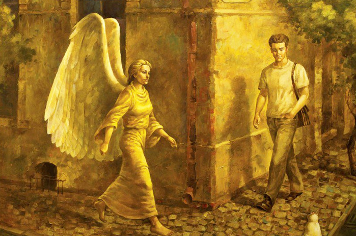 Жил на свете человек...  Angels