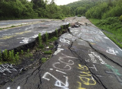 Centralia PA - Strange abandoned ghost town right here in America - SMOLDERING for 55 years! PA-13618660-390x285
