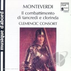 Monteverdi : Madrigaux 3609993