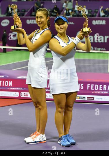 "¿Cuánto mide "" Latisha "" Young-Jan Chan? - Real height Doha-27th-feb-2016-hao-ching-chan-l-of-chinese-taipei-and-yung-jan-fj13ec"
