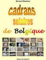 Cadrans solaires de Belgique Couverture