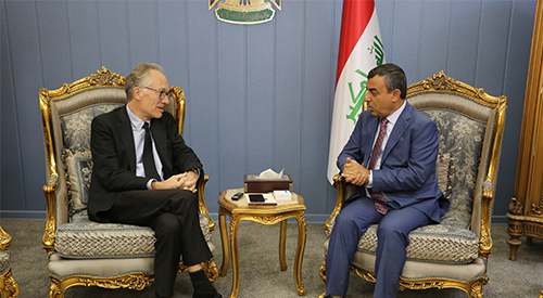 Iraq calls on Danish companies to contribute to the reconstruction of its cities and investment 2018-12-13