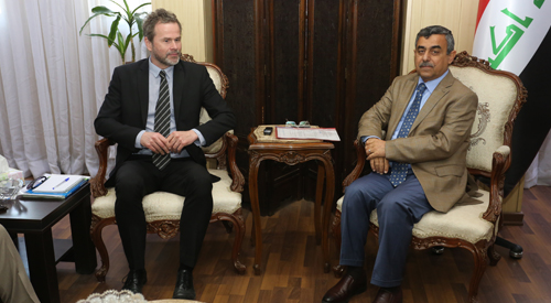 Secretary General of the Council of Ministers receives a delegation of the Swedish Development Agency SKL 2019-02-06-1