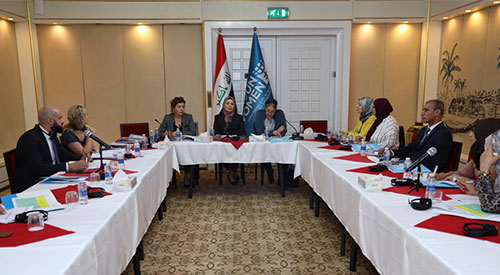 The National Women's Committee includes 12 new organizations to implement the second phase of the Women, Security and Peace Fund project 2019-07-28-01