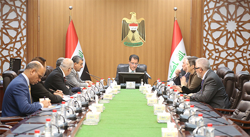Minister of Planning chairs the first meeting of the Joint Executive Committee for Recovery, Reconstruction and Development in Iraq 2019-3-12-4