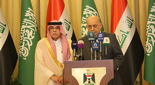 A high-ranking Saudi trade delegation in Baghdad to consolidate the overall rapprochement with Iraq 2019-4-7