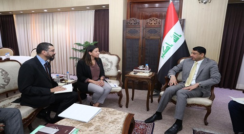 Secretary-General of the Council of Ministers hails the role of international organizations in Iraq 2019-7-11-5
