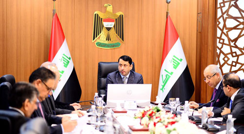 The Secretary-General of the Council of Ministers affirms Iraq's commitment to international agreements and treaties to advance the country's reality 2020-01-26-1