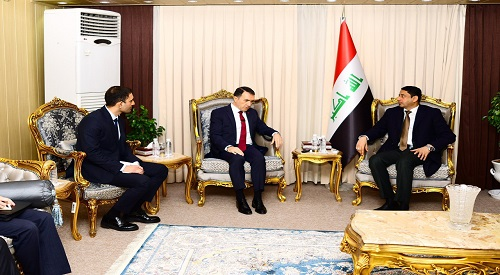 The Secretary-General of the Council of Ministers examines mechanisms for developing bilateral relations between Baghdad and Ankara 2020-2-14-2