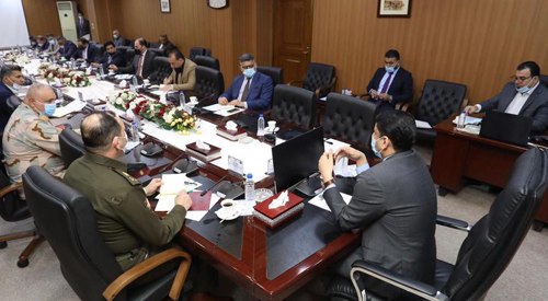 The Secretary-General of the Council of Ministers chairs a meeting of the Government Media Cell and stresses the unification of the media discourse 2021-02-24-1