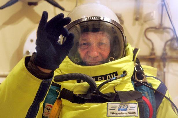 Saut supersonique: «J'irai plus haut que Felix Baumgartner et je lui ferai un petit coucou!» Article_Fournier