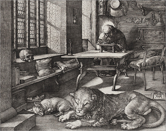 Melencolia I (Albrecht Dürer) - Page 2 07_Saint-Jerome.jpg__1262291838_4632