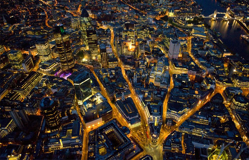 ليالي لندن من الجو London1