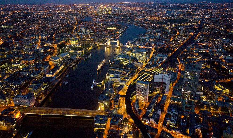ليالي لندن من الجو London15