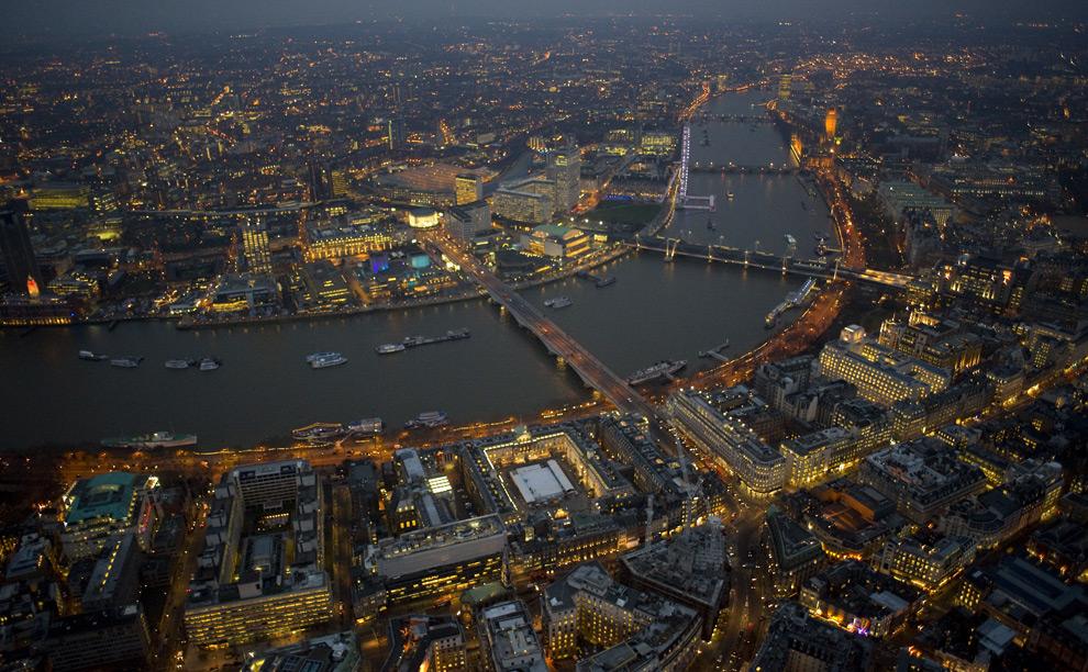 ليالي لندن من الجو London19