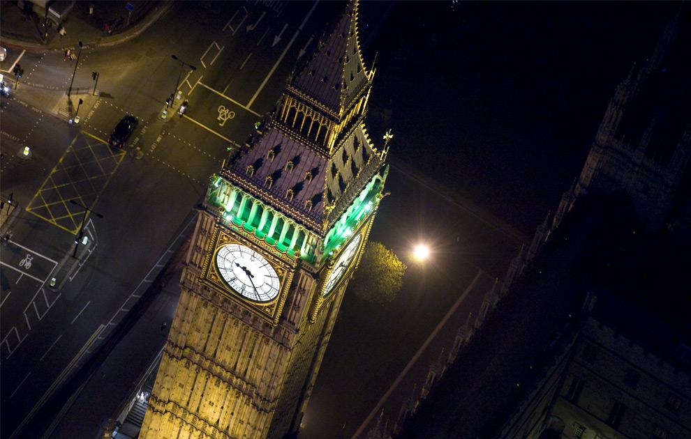 ليالي لندن من الجو London2