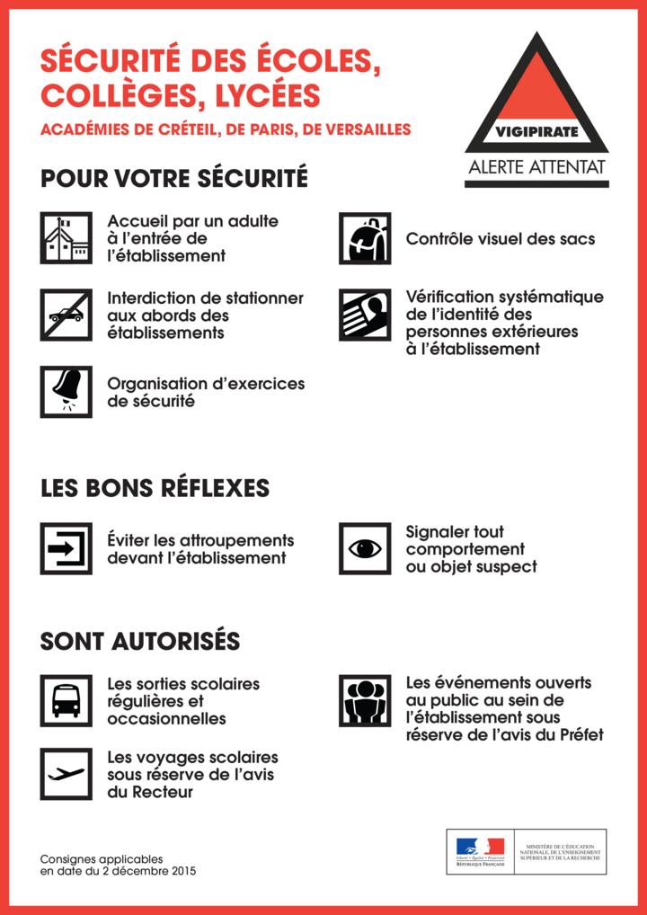 Sécurité des écoles, collèges, lycées : consignes applicables à partir du 23 novembre 2015 Vigipirate_alerte-attentat_501725.89