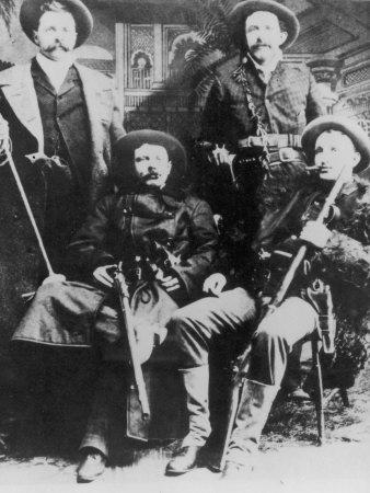 La banda de los Banda de James-Younger The-james-younger-gang-l-r-cole-younger-jesse-james-bob-younger-frank-james