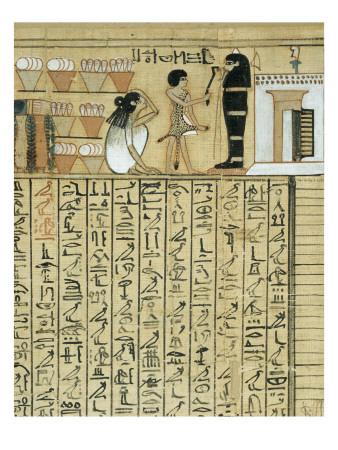 Papiros funerarios .IMAGENES Livre-des-morts-papyrus-de-nebqed
