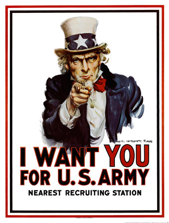Unioniste Flagg-james-montgomery-poster-de-recrutement-pour-l-armee-americaine-i-want-you-for-the-u-s-army-vers-1917