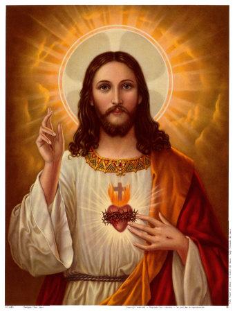 Hnub ua hmoov hawm yes Xus lub Plawv Ntshiab Sacred-heart-of-jesus