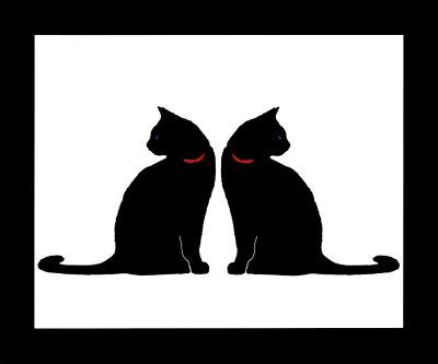 Lo que todo gato quiere  (Harry styles y tu) TERMINADA Dos-gatos-negros