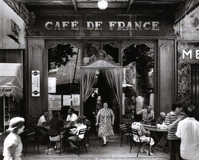 LE CAFE DES SPORTS  DES VETERANS  Ronis-willy-cafe-de-france
