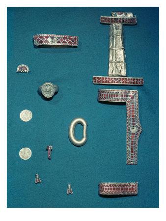 le tombeau de chidèric et son trésor en 1655 Q2LWF00Z