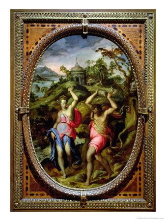أساطير أغريقية .... - صفحة 3 Andrea-di-mariotto-del-minga-deucalion-and-pyrrha-1572
