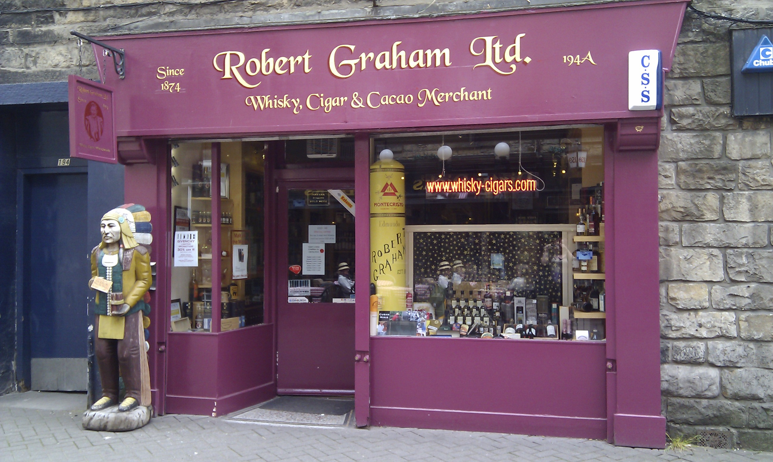 Robert Graham à Edimbourg Rg