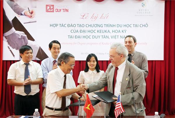 Thêm cơ hội cho sinh viên lấy bằng Đại học Mỹ ngay tại Việt Nam H14a