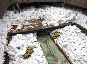 Carico di missili provenienti da Cuba e destinato alla Corea del Nord,bloccato a Panama BarcoPanama-display