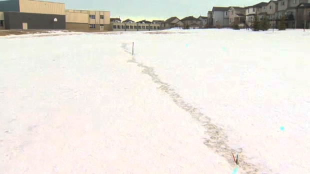 Possible epicenter of frost quake and 'mystery boom' found in northwest schoolyard Image