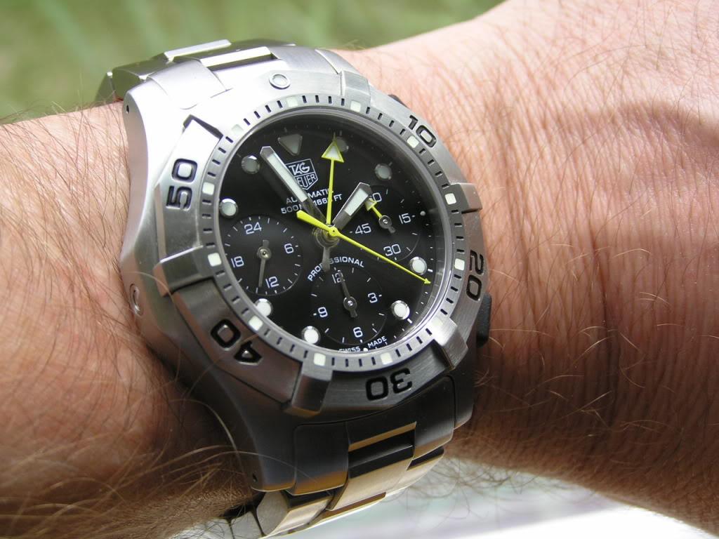 les chronos utilisables a profondeur maxi  P9030137