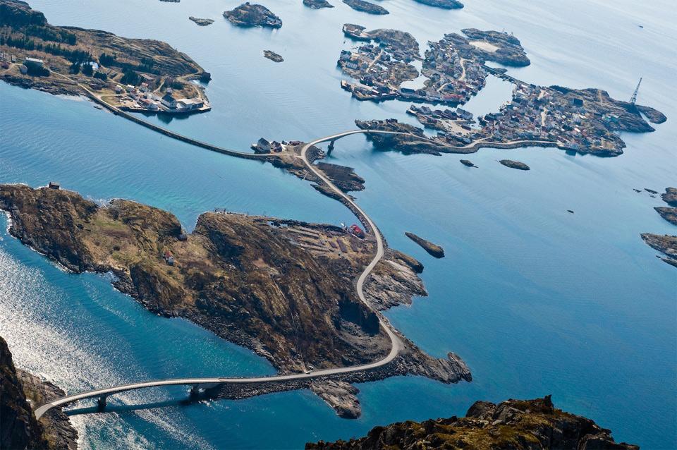 Роскошные пейзажи Норвегии 10norways-atlantic-ocean-road