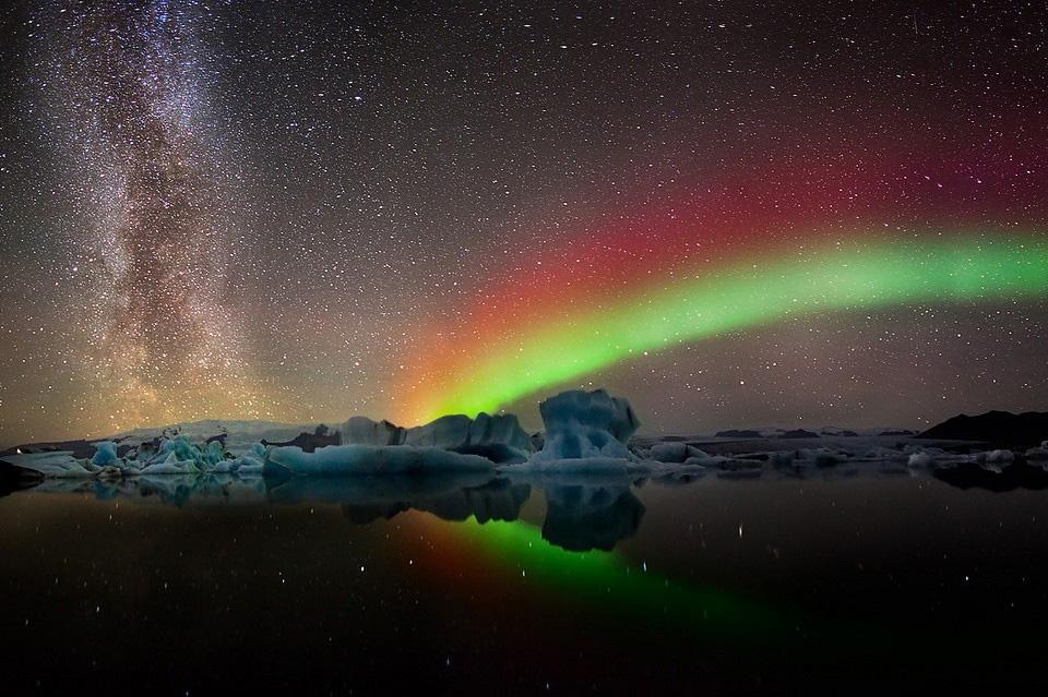 Роскошные пейзажи Норвегии 13colors-of-aurora-borealis