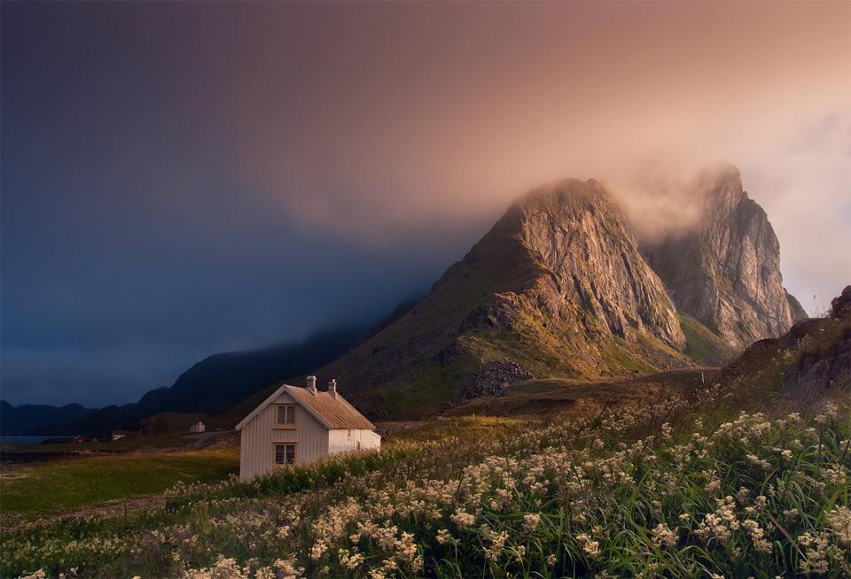 Роскошные пейзажи Норвегии 20beautiful-lofoten-norway