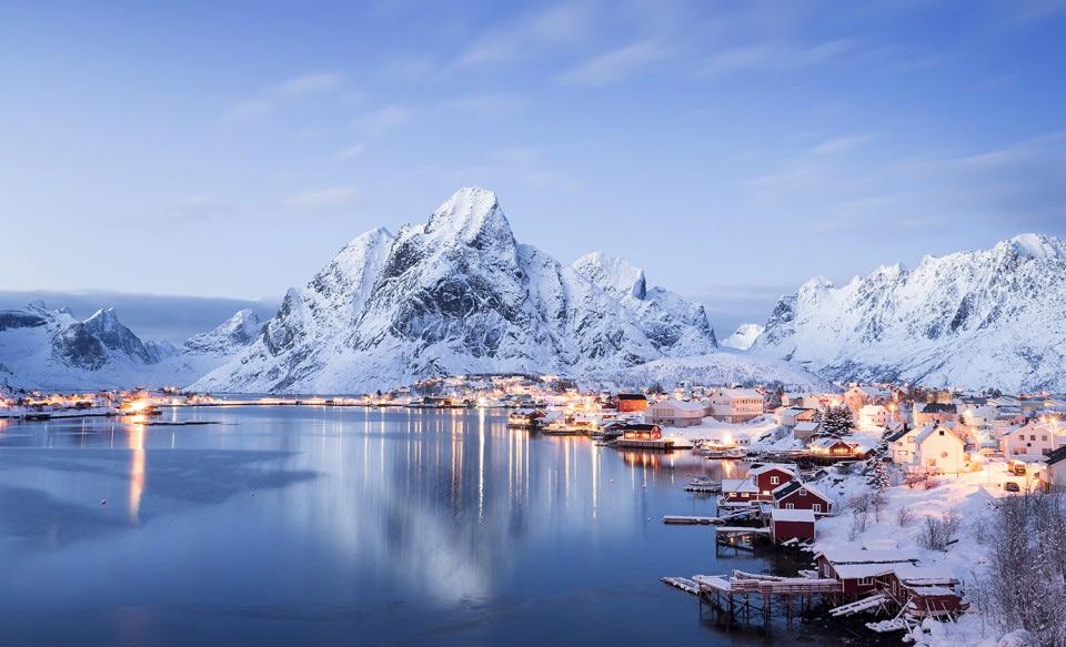 Роскошные пейзажи Норвегии 9reine-the-most-meautiful-village-in-norway