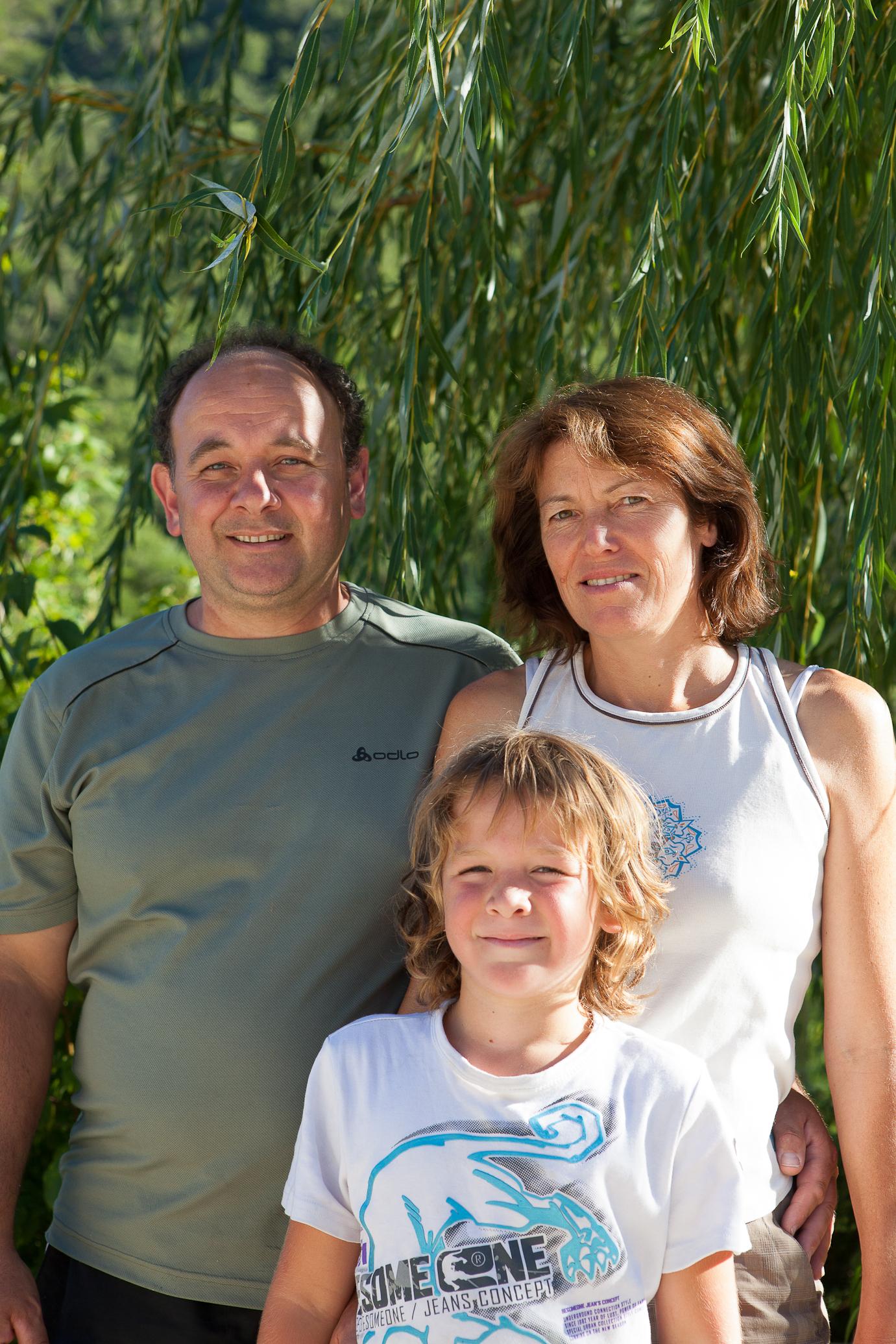 Anne & Jean-Paul du Camping La Source du Jabron à Comps, Dieulefit