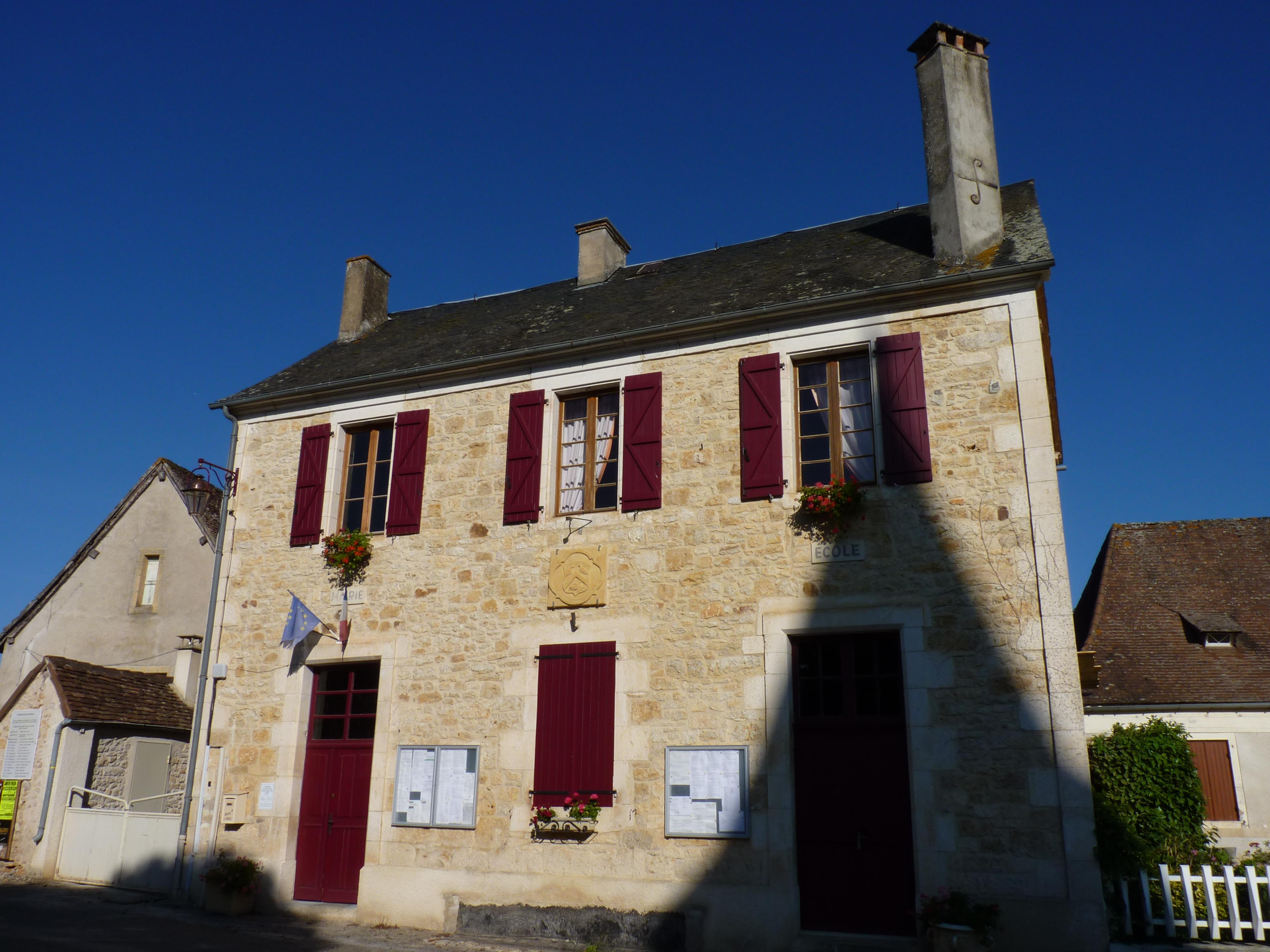 Mairie de Loupiac CC BY-SA Mrhugues