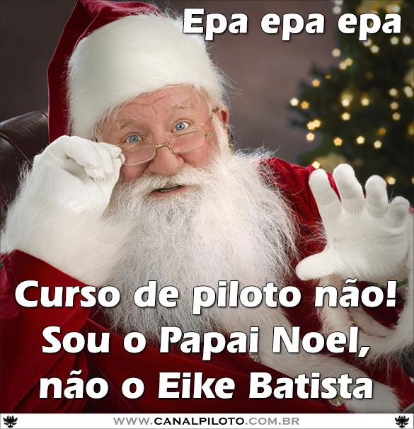 A época de Natal chega e o pedido é… Papai_Noel_585_Canal_Piloto