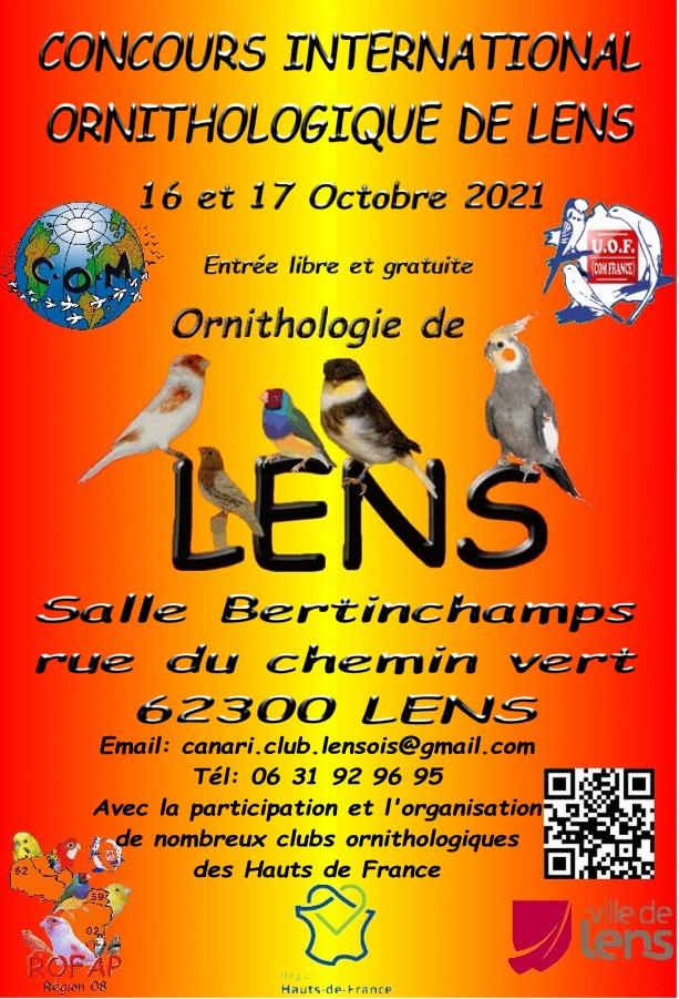 Canari Club Lensois - PORTAIL CCL Affiche-2021-couleur