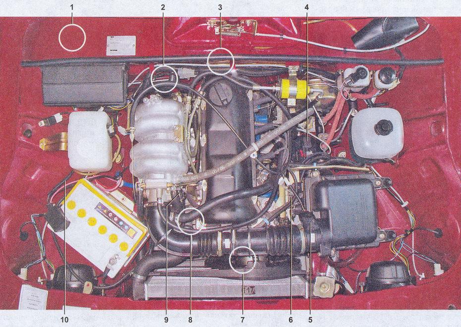 Este es el motor mas reciente del VAZ 2107. Vaz-lada-2107-467